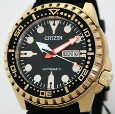 Massive CITIZEN Automatic DayDate Herrenuhr WR 10 ATM  NH8383-17E