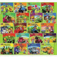 Bob The Builder Collection 20 Books Set Pack Dizzy,Benny,Scruffy,Flex,Roley NEW