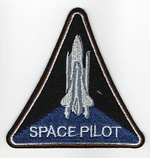 Space Pilot Aufnäher Orbit Mond Spaceshuttle Mondlandung Kosmos Weltall Patch
