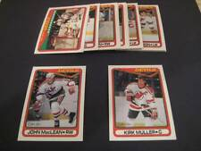 1990/91 O-Pee-Chee OPC New Jersey Devils Team Set