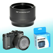 FA-DC58D Filter Adapter Conversion Mount 58mm Canon G15 G16 Auto Adjust Zoom JJC