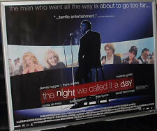 Cinema Poster: NIGHT WE CALLED IT A DAY, THE 2006