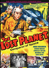 LOST PLANET - JUDD HOLDREN Crazy SCI-FI Old time serial, two disc set DVD