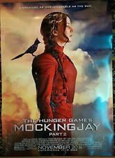 The Hunger Games: Catching Fire Movie Poster 27 x 40 DS Authentic