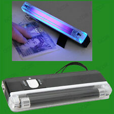 Mini UV Pocket Size Blacklight Counterfeit Bank Note Fake Money Forgery Detector