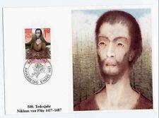 Liechtenstein 918 Maximumkarten Nikolaus von der Flüe