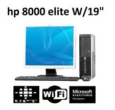 "HP 8000 or 6000 9"" LCD Windows 7 Intel Core 2 Duo 3GHz 160GB WiFi 4GB Desktop"