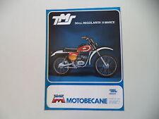 advertising Pubblicità 1977 MOTO MOTOBECANE TMS 50 REGOLARITA' 6M