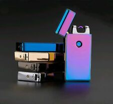 Arc USB Electronic Rechargeable Battery Cigarette Lighter 5 Color