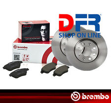KBB51 PASTIGLIE + DISCHI FRENO BREMBO BMW 320D E46 100KW 136CV DA 04/98 02/05