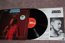 "MIRIAM MAKEBA ""Country Girl"" Org. 1981, Weltmusik/Jazz, OIS, nm/ex, rar!"