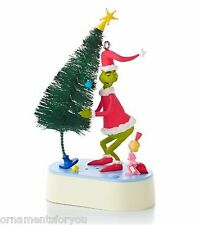 Hallmark 2013 Why Are You Stealing Our Christmas Tree Magic Ornament Grinch