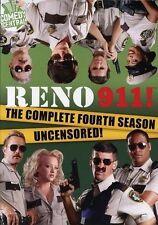 RENO 911: COMPLETE FOURTH SEASON BRAND NEW SEALED 2DVD SET AUS MADE REG 4