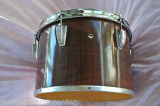 "1970's LUDWIG 13"" CONCERT TOM IN MAHOGANY CORTEX for DRUM SET! LOT #J581"