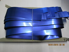 Royal Blue Slash (Foil) 12ft Drop Shimmer Curtains for Theatre / Stage / Party