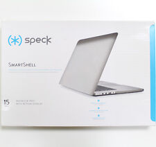 "Speck SmartShell Case MacBook Pro 15"" Retina Display Cover Shell Skin Clear"