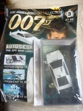 James bond car collection ISSUE *3 LOTUS ESPRIT & MAGAZINE New & Sealed