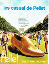 PUBLICITE ADVERTISING 036 1978  chaussures  Christian Pellet Casual