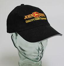 (69021) BW - casquette de baseball à visière Broderie • John Deere • TRACTEUR •