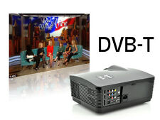 VIDEO PROIETTORE DVB-T TV DIGITALE TERRESTRE 3000 LUMENS VIDEOPROIETTORE + TELO