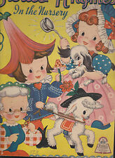 Stories & Rhymes in the Nursery (Merrill Publishing) 1940s #4804