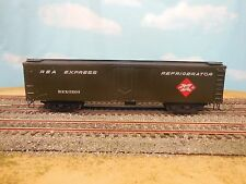 HO BRASS TRAINS INC. TID REA EXPRESS REEFER PAINTED DECALS ON ONE SIDE