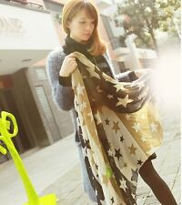 Charming army green Chiffon Long Scarf Wrap Shawl Stole For Honorable lady