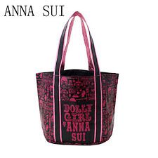Lady Women Girl JAPAN ANNA SUI Organiser Travel Shoulder Tote PU Shopping Bag