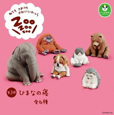 Takara Tomy Panda's ana Zoo Zoo Zoo Sleeping Animal Collection P3 Set 6pcs