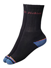 Dickies Strong Work Socks - Three Pack - One Size - Reinforced Heel - 3 Pack
