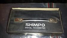 Shimpo DT-103C Digital Tachometer w/ Accessories and Case