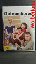 Outnumbered : Series 2 [2 DVD Set] Region 4, NEW & SEALED, FREE Next Day Post