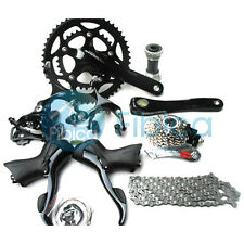 New Shimano Sora Road 3500 9-speed Bike Groupset group set Black with Brake