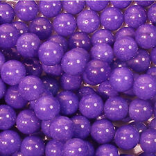 PURPLE CANDY JADE 10MM ROUND GEMSTONE BEADS A+