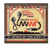 5060112600364  Warren Records - State Of The City [CD] FREEPOST 2 CD