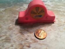 BARBIE BRATZ DOLL HOUSE HOME DECOR ACCESSORIES  TABLE TOP RADIO MOD RETRO PINK