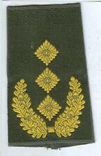 Bundeswehr:Rangschlaufen:Generalleutnant.gelb in oliv. 1 Paar