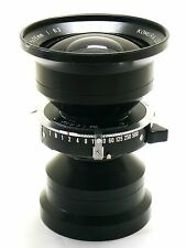 75mm f/6.3 Super W Komura lens in Copal 0 shutter EXC