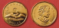 Brilliant Uncirculated 2012 Canada Lucky 1 Dollar From Mint's Roll