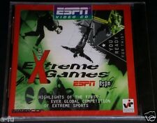 ESPN EXTREME GAMES Highlights Video CD Skateboarding Biking Surfing New Sealed