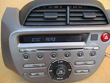 Honda Jazz Radio WMA Stereo CD MP3 Player AUX IN +CODE 39100-TF3-E201-XA MF638RO