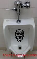 PEE PISS ON DONALD TRUMP'S FACE Vinyl Decal Sticker Window Toilet Bumper Urinal