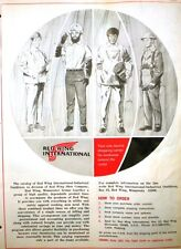 Red Wing Shoe Company Catalog ASBESTOS Safety Clothing 1970