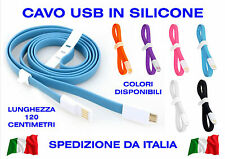 CAVO MICRO USB B CABLE SAMSUNG HUAWEI LG SMARTPHONE CARICA CHARGE DATA DATI PC