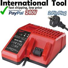 MILWAUKEE M12 & M18 LITHIUM ION C18BX BATTERY CHARGER C12C C1418C M12-18C M1218C