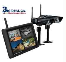 """Uniden Guardian G955 Wireless Security System EXTRA-LARGE 9"""" MONITOR/2 CAMERAS"""