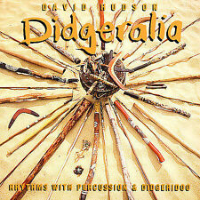 DAVID HUDSON - DIDGERALIA - 11 TRACK MUSIC CD - LIKE NEW - E841