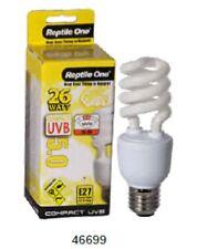 Reptile One R1-46699 Lamp Compact 26W UVB 5.0% E27 Screw - Reptiles & Amphibians