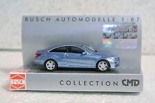 Busch 41655  1/87 HO Mercedes Benz E Class CMD Blue C-9 NIB