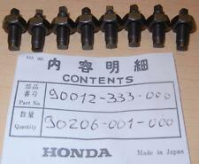 Honda CB160 175 350 XR80-250 rocker arm adjusters & nuts 8-pack 90012-333-000 AB